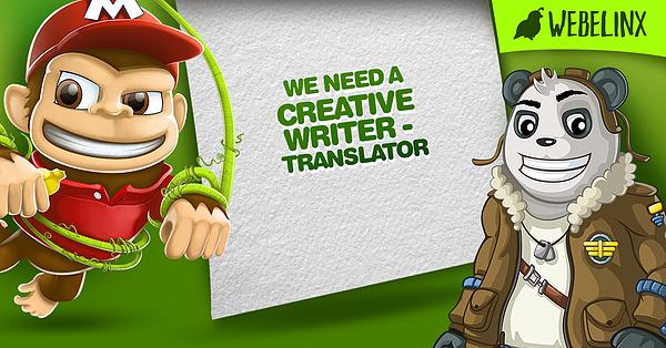 WEBELINX traži engleskog prevodioca